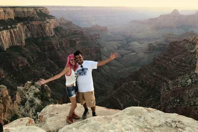 அமெரிக்கா: 800 அடி பள்ளத்தாக்கில் விழுந்து கேரள ஜோடி உயிரிழப்பு