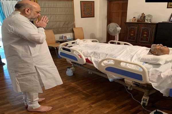 ராம் ஜெத்மலானி உடலுக்கு மத்திய உள்துறை அமைச்சர் அமித் ஷா அஞ்சலி