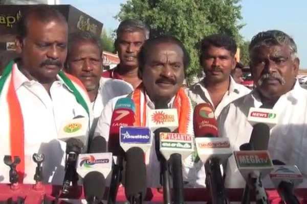 பாதைக்காக விவசாயத்தை அழிக்கக் கூடாது: வசந்தகுமார்!