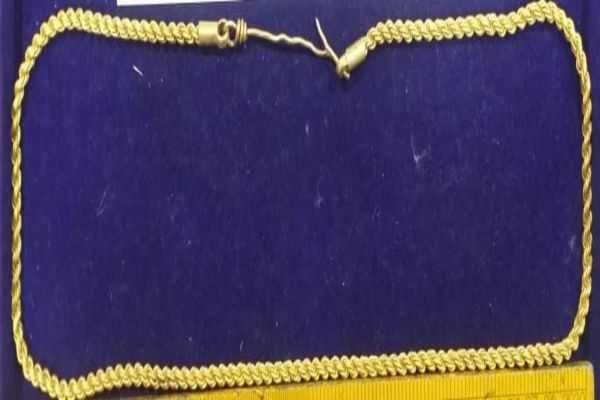 திருச்சி விமான நிலையத்தில் ரூ.3.52 லட்சம் மதிப்புள்ள தங்கம் பறிமுதல்