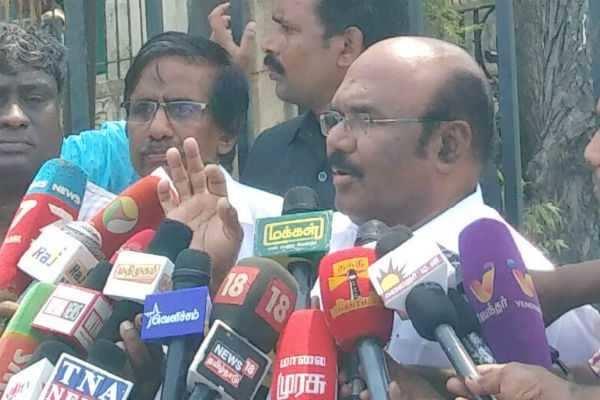 அமமுக கட்சியே அல்ல, அதில் உறுப்பினர்களும் இல்லை: அமைச்சர் ஜெயக்குமார்