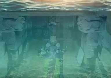 குளத்திற்குள் வைக்கப்பட்ட அத்திவரதர்: காஞ்சிபுரத்தில் கொட்டும் மழை
