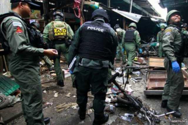 தாய்லாந்தில் வெடிகுண்டு தாக்குதல்; 3 பேர் பலி