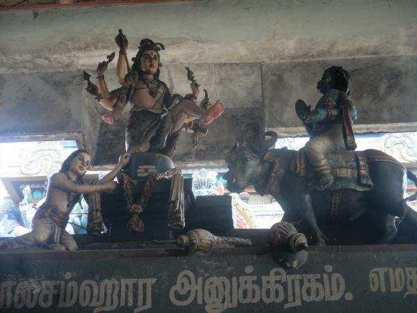 1008 சங்குகள் வைத்து அபிஷேகம்... அமிர்தகடேஸ்வரர் கோவில்...!