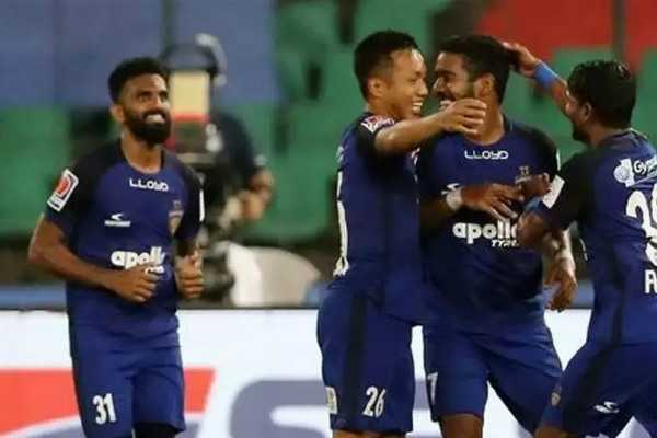 ஐஎஸ்எல்: பெங்களூருக்கு ஷாக் கொடுத்த சென்னை!