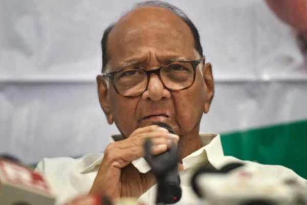 மகாராஷ்டிரா அரசியல் : குழப்பத்திற்கு முற்றுபுள்ளி வைத்த சரத் பவார்!!