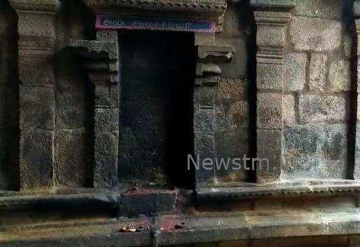 கும்பகோணம்: ஆஞ்சநேயர் சிலை திருட்டு - மர்ம நபர்களுக்கு போலீஸ் வலைவீச்சு
