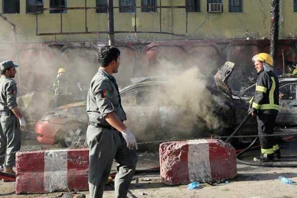 ஆப்கான் தற்கொலைப்படை தாக்குதலில் இந்துக்கள், சீக்கியர்கள் உட்பட 19 பேர் பலி