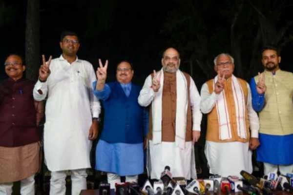ஜனநாயக ஜனதா கட்சியுடன் இணைந்து ஹரியானாவில் ஆட்சி அமைக்கும் பாஜக!!