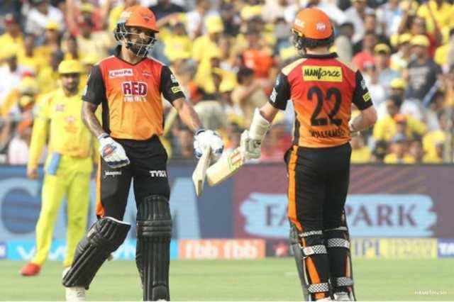 ஹைதராபாத்  vs சென்னை: சென்னைக்கு 180 இலக்கு