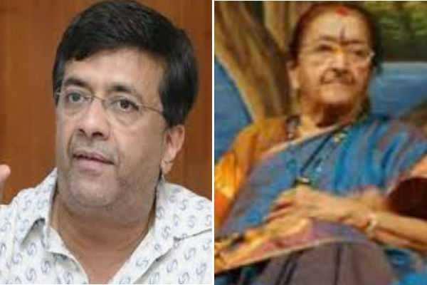 ஒய்ஜி மகேந்திரனின் தாயார் உடல்நலக் குறைவின் காரணமாக இன்று காலமானார்