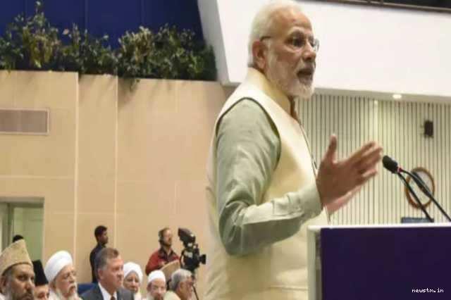 உலக மதங்களின் தொட்டிலாக இந்தியா திகழ்கிறது: மோடி பேச்சு