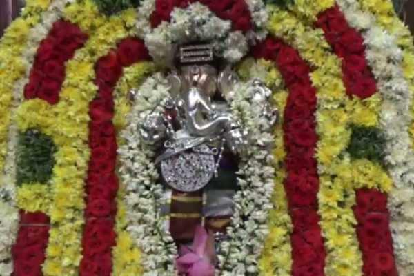 ஸ்ரீ மகா கணபதி ஆலய திருத்தேரோட்டம் வீடியோ!