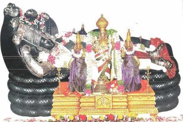 திருமாலின் பத்து வித சயன திருக்கோலங்கள்