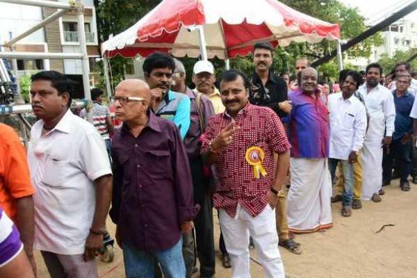 நடிகர் சங்க தேர்தல்: வாக்குப்பதிவு நிறைவு