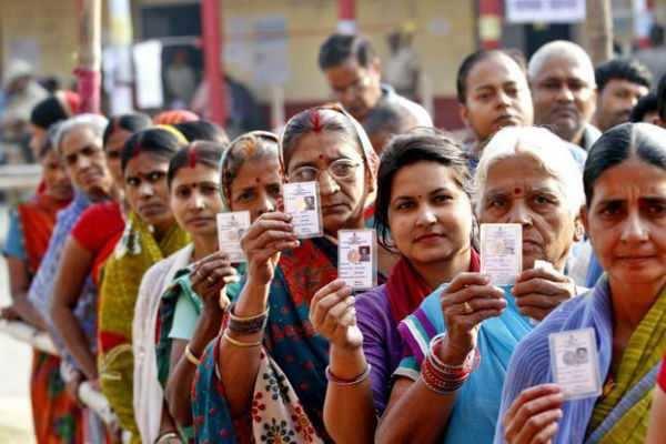 மக்களவைத் தேர்தல்: 91 தொகுதிகளில் விறுவிறுப்பான வாக்குப்பதிவு