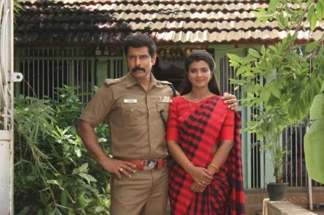 'சாமி 2' படத்தில் விக்ரம் ஜோடியாக ஐஸ்வர்யா ராஜேஷ்!