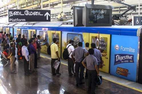 சென்னை மெட்ரோவில் 1.91 கோடி பேர் பயணம்