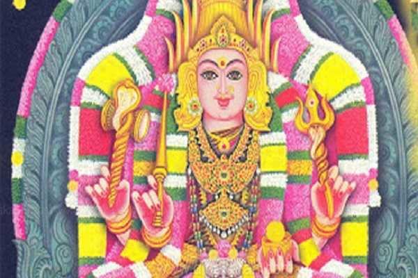 சிரசு வடிவில் அருள்பாலிக்கும் படவேடு ரேணுகாம்பாள்
