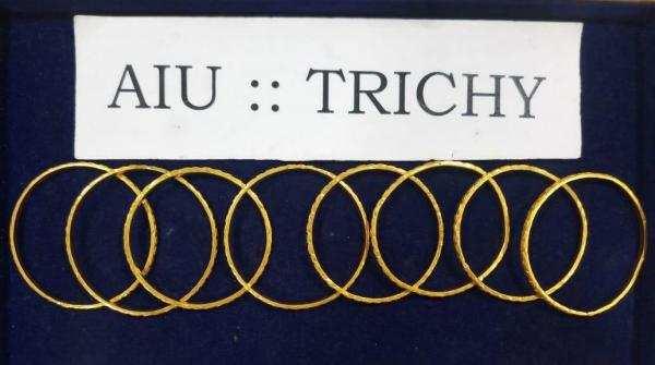 திருச்சி விமானநிலையத்தில் ரூ17 லட்சம் கடத்தல் தங்கம் பறிமுதல்!
