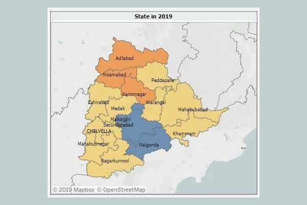 தெலங்கானா : Newstm கருத்துக்கணிப்பும், தேர்தல் முடிவும்!
