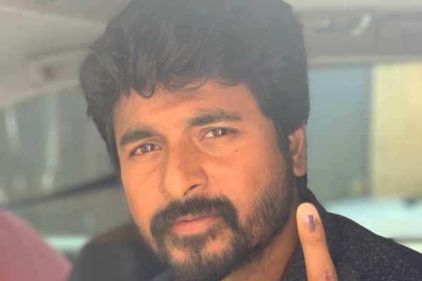 சிவகார்த்திகேயன் விவகாரத்தில் தேர்தல் அலுவலர் மீது நடவடிக்கை: தலைமை தேர்தல் அதிகாரி திட்டவட்டம்